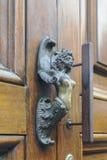 A pena antiga original na porta da rua Imagens de Stock