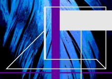 Pena azul para a capa do livro Tema abstrato da natureza Imagem de Stock Royalty Free