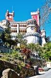 Pena castle, Portugal Stock Images