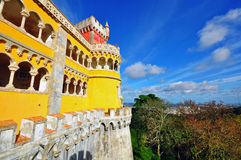 Pena castle, Sintra Royalty Free Stock Photos