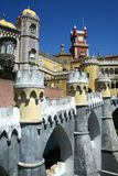 Pena castle in Sintra Royalty Free Stock Photo