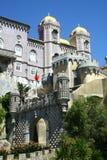 Pena castle in Sintra. In Portugal Stock Image