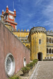 Pena, colorful palace Royalty Free Stock Image