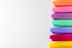 Pena colorida Fotos de Stock Royalty Free