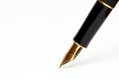 Pena da tinta Foto de Stock Royalty Free