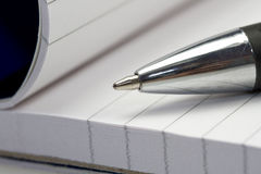 Pena de esferográfica Imagem de Stock