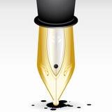 Pena de fonte de luxe Imagens de Stock Royalty Free