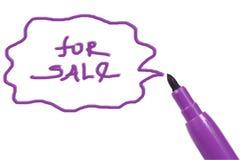 Pena de marcador Imagens de Stock Royalty Free