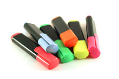 Pena de marcador Fotografia de Stock