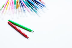 Pena de marcador Foto de Stock
