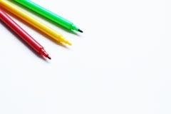 Pena de marcador Imagem de Stock Royalty Free