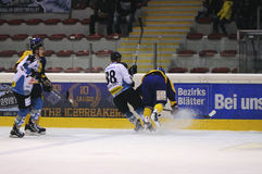 Pena del juego de hockey Fotografía de archivo libre de regalías