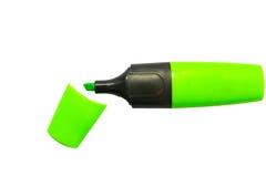 Pena do highlighter Foto de Stock Royalty Free