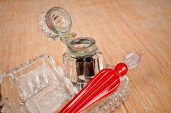 Pena do vidro do vintage Foto de Stock Royalty Free