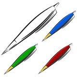 Pena dos desenhos animados. eps10 Imagem de Stock