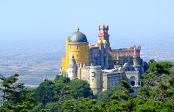 Pena National Palace Stock Photo