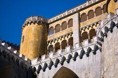 Pena National Palace. Palacio da Pena, Sintra, Portugal Stock Image