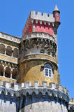 Pena National Palace detail Stock Image