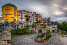 Pena National Palace - the gates Stock Photography