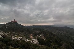 Pena National Palace in the municipality of Sintra Stock Photography