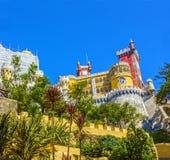 Pena National Palace. Palacio Nacional da Pena Sintra, Portugal Royalty Free Stock Photo
