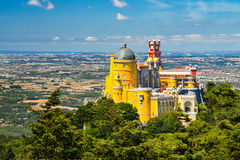 Pena National Palace, Portugal Royalty Free Stock Photos