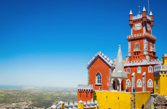 Pena National Palace in Portugal Royalty Free Stock Photos
