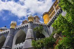 Pena National Palace, Portugal Stock Photo