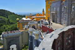 Pena National Palace, Portugal Royalty Free Stock Photography