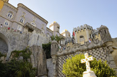 The Pena National Palace Royalty Free Stock Photos