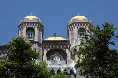 Pena National Palace in Sintra Stock Photos
