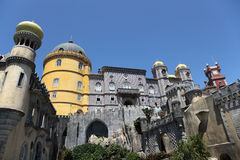 Pena National Palace in Sintra Stock Photo