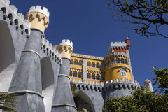 Pena National Palace - Sintra - Lisbon - Portugal Royalty Free Stock Photo