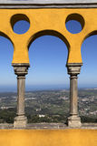 Pena National Palace - Sintra - Lisbon - Portugal Royalty Free Stock Photography