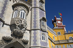 Pena National Palace at Sintra near Lisbon in Portugal Stock Photo