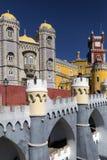 Pena National Palace - Sintra near Lisbon - Portugal stock photos