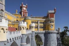Pena National Palace - Sintra near Lisbon - Portugal Royalty Free Stock Photos