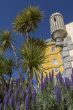 Pena National Palace at Sintra near Lisbon in Portugal Royalty Free Stock Photography