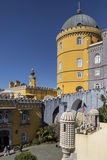 Pena National Palace at Sintra near Lisbon in Portugal Royalty Free Stock Image