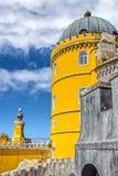 Pena National Palace in Sintra Palacio Nacional da Pena, Portu Stock Images