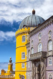 Pena National Palace in Sintra Palacio Nacional da Pena, Portu. Gal stock photography