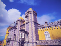Pena National Palace in Sintra Royalty Free Stock Image