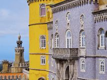 Pena National Palace in Sintra Royalty Free Stock Photography