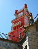 The Pena National Palace in Sintra Stock Image