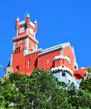 The Pena National Palace in Sintra Royalty Free Stock Photo