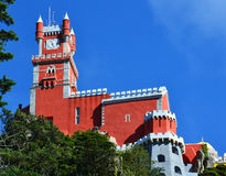 The Pena National Palace in Sintra Stock Images