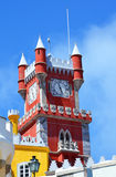 The Pena National Palace in Sintra Royalty Free Stock Images