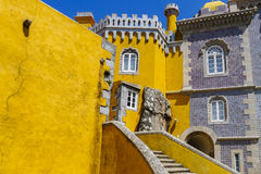 Pena National Palace in Sintra Portugal Royalty Free Stock Images