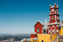 Pena National Palace in Sintra, Portugal Royalty Free Stock Photography