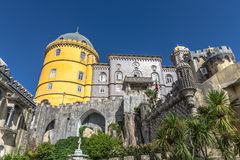 Pena National Palace in Sintra, Portugal. Stock Images